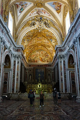 Church of Certosa di San Martino, Naples, ItalyChurch of Certosa di San Martino, Naples, Italy (SomePhotosTakenByMe) Tags: certosadisanmartino church kirche architektur architecture indoor urlaub vacation holiday italy italien naples napoli neapel city stadt decke ceiling vomero