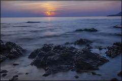 Al amanecer. (antoniocamero21) Tags: amanecer paisaje marina foto color sony lescala girona catalunya rocas