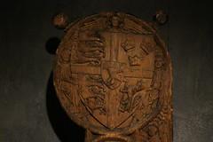 IMG_1981 (clare_and_ben) Tags: 2017 scandanavia føroyar faroeislands streymoy tórshavn torshavn museum nationalmuseum føroyafornminnissavn nationalmuseumofthefaroeislands carving pew pewends
