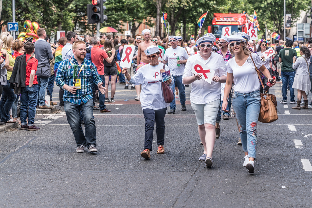 LGBTQ+ PRIDE PARADE 2017 [ON THE WAY FROM STEPHENS GREEN TO SMITHFIELD]-130169