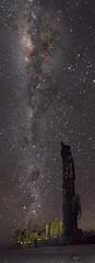 Noche de Sonda (Robelier Photoexplorer) Tags: stars milkyway galaxy nightscapes night outdoor drilling machinery sonyalpha