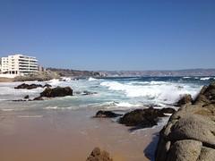 Oceano pacifico (alipiojunior) Tags: natureza nature vinadelmar rochas sea pacifico mar chile valparaiso