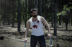 """Logan"" Cosplay (Greg Larro Photography) Tags: logan james howlett wolverine weapon x xmen cosplay movie film hugh jackman greg larro photography photograph photo cosplayer woods forest blood claws mutant mutants fox 20th century"