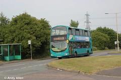 Arriva Midlands 4754 FJ06ZSZ (Andy4014) Tags: fj06zsz arriva leicester coalville bus