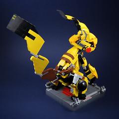 Pikachu mecha (LEGO 7) Tags: pikachu mecha lego moc pokemon
