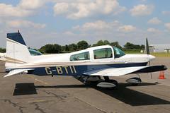 G-BTII (GH@BHD) Tags: gbtii grumman grummanamerican gulfstreamamerican aa5 aa5b tiger traveler northwealdairfield northweald airbritainflyin airbritain aircraft aviation