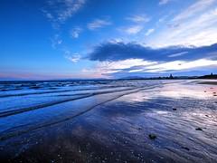Ardrossan South Beach,Ayrshire (Phelan (Shutter Clickin) Goodman) Tags: ardrossan south beach saltcoats ayrshire scotland water sky reflections sunset silhouettes waves shore panasonic gx80