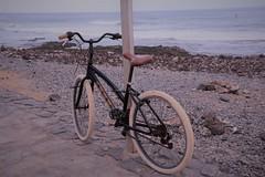 Bike on Boulevard (Vero Raes) Tags: boulevard costa adeje tenerife bike beach