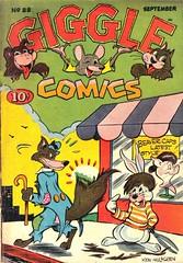 Giggle Comics 22 (Michael Vance1) Tags: art artist adventure anthology comics comicbooks cartoonist fantasy funnyanimals funny humor goldenage