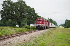 Rolling (ajketh) Tags: rjcs rj corman carolina lines freight train railroad emd gp38 gp383 local shortline 3812 7710 country tree oak rolling hills highway 701 sc south loris conway