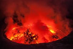 Nyirangongo lava lake (jonathanrenouf) Tags: drc volcano congo nyiragongo