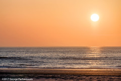 Beautiful sunset in the North Sea (George Pachantouris) Tags: holland netherlands sunset sunrise egmond aan zee sea ocean lighthouse vacation holiday summer travel