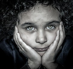 Sad girl! (Lorrainemorris66) Tags: greeneyes girl sadchild