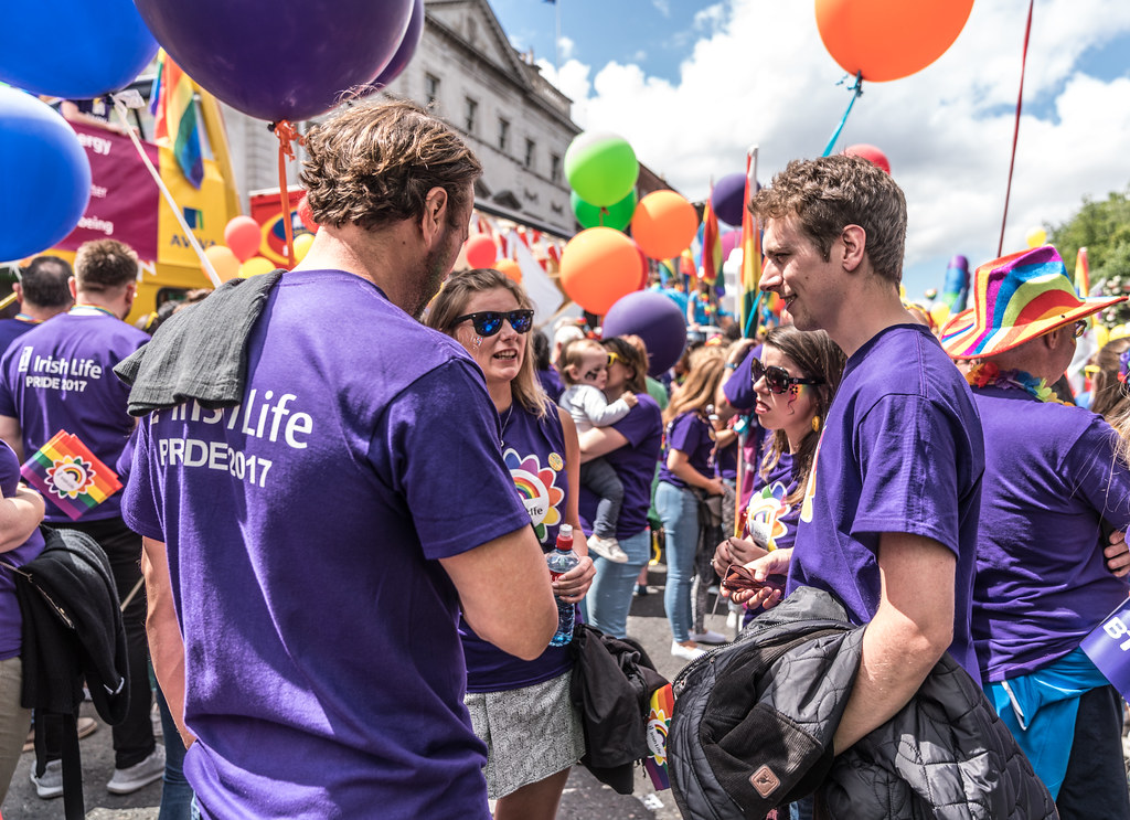 LGBTQ+ PRIDE PARADE 2017 [STEPHENS GREEN BEFORE THE ACTUAL PARADE]-129908
