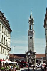 Bahnhof Konstanz Germany (Muse_MAI) Tags: nikon f801s konstanz germany constance bahnhof deutschland sky street city strase 康斯坦茨 街道 扫街 街拍 德国 建筑 stadt 35mm film