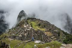 Typical View of Machu Picchu (matiasrquiroga) Tags: machu picchu peru travel trip tour hiking clouds rain rainy day south america latinoamerica green wet mountain montaña viaje caminata subida