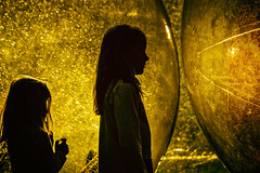 blinded (Smo_Q) Tags: poland hometown girls play sun balls waterorbs