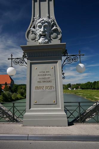 Salzachbrücke, Laufen