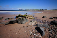 Ballycastle Beach, Northern Ireland. (Colin Kavanagh) Tags: beach beachscape northernireland visitireland visitnorthernireland ballycastle water sky sand bluesky rocks stream birds ireland antrim stones sea coast coastline coastal seascape landscape irishlandscape sunshine sunny ndfilter longexposure