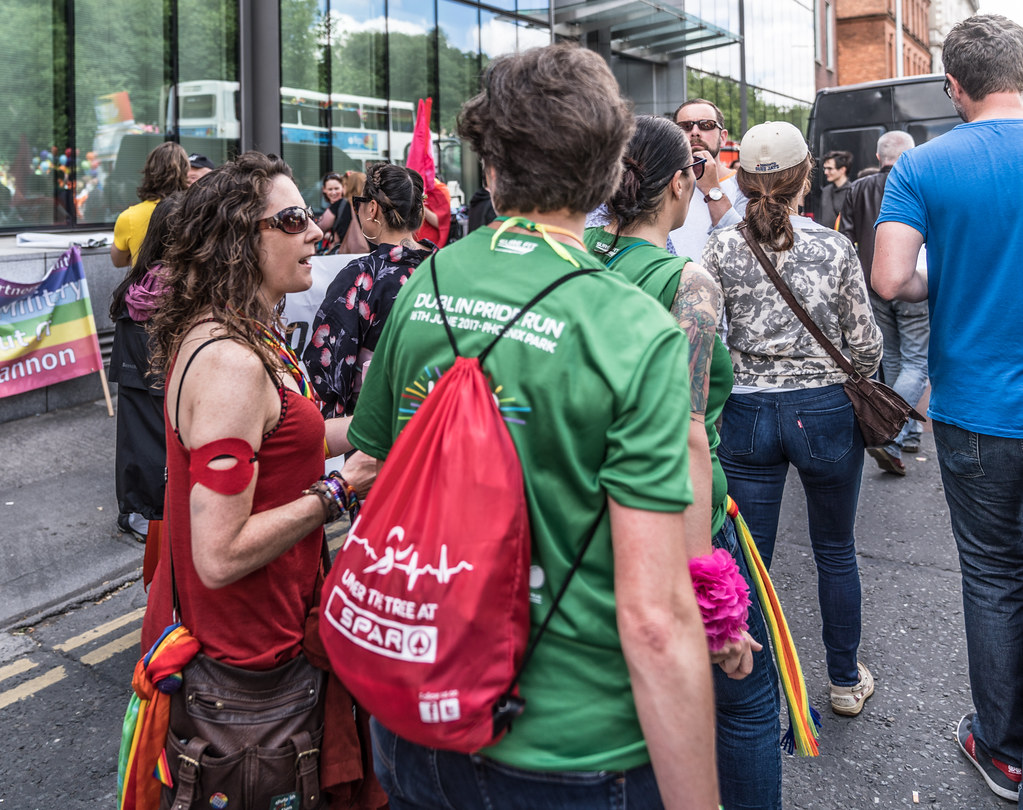 LGBTQ+ PRIDE PARADE 2017 [STEPHENS GREEN BEFORE THE ACTUAL PARADE]-129877