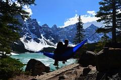 Moraine Lake (LukeeB) Tags: morainelake bc british colombia hammock canada canada150 travel