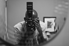 Kill Brother Chris (Brother Christopher) Tags: selfie selftportrait portrait portraiture bnw blackandwhite mirror studio explore art monochrome monochromatic brotherchris stayhungry stayfocused canon bald beard