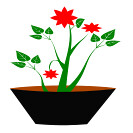 gsagri04 flower-pot icon (kwippe) Tags: icons clipart vector