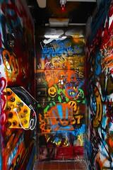 Mystery door 1/3 (AlfieChallis) Tags: photo photography photograph photographs photographer streetphotography graffiti bristol canon 700d canon700d sigma sigmalens wideangle bristolcity city colour green red orange blue bright phone mystery door