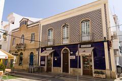 Portimão - Azulejos (MR@tter) Tags: algarve architektur gebäude portimao portugal portimão faro pt geotagged azulejo fliese