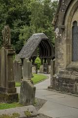 The way to church (jbc58) Tags: luss loch lomond church gravestones