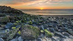 Sunset at the Brouwersdam (Wim Boon (wimzilver)) Tags: wimboon wimzilver sunset leefilternd09softgrad leelandscapepolariser canoneos5dmarkiii canonef1635mmf4lisusm brouwersdam