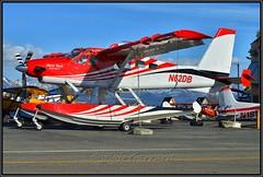 N62DB Aero Tech LLC (Bob Garrard) Tags: lake hood seaplane base anchorage alaska alh palh anc panc de havilland dhc2 turbo beaver mk lll canada