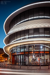 Let's go shopping 1 (M.Visions Photographie) Tags: night photography galeries lafayette marseille urban street architecture architectural sony a7ii nikon 28mm f35 ais pc perspective control tilt shift lens france shop design