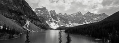 Lake Moraine - Banff NP - Canada (Joost Holthuizen) Tags: xpan 30mm agfa apx canada banff lake moraine
