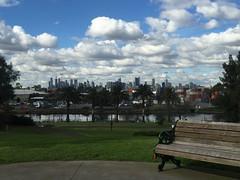 City skyline and the dockyards.. (Janice Perrin) Tags: cityskyline