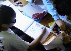 Día 4 . Empezamos a decorar nuestros cuadernos 04