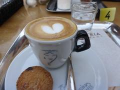 Coffee time!!  P1020172 (amalia_mar) Tags: καφέσ φλυτζάνι μπισκοτο νερό coffee cup biscuit water káva café caffè