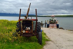 (Zak355) Tags: rothesay isleofbute bute scotland scottish marnock mvmarnock inchmarnock boat ship vessel ferry workboat oldtractor straad