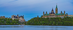 Happy Canada Day! (Aleem Yousaf) Tags: parliamenthill collineduparlement thehill crownland rideau ottawariver downtown gothic architecture historic parliament canada rideauwaterway nationalsymbol ottawa tower clock northamerica neutral density long exposure waterway travel vista dusk sky flag nikon d800 ontario outdoor building rideaucanal neutraldensity longexposure canadaday canada150