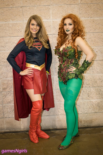 Supergirl And Poison Ivy Cosplay A Photo On Flickriver