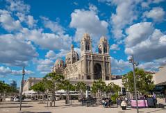 La Major (vmandyev) Tags: lamajor marseille cathédrale cathedral sky clouds blue bluesky square