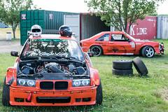 Orange BMW (Robert Jack Images) Tags: bmw racecar drift orange car german