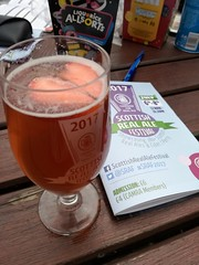 CAMRA Beer Festival, Corn Exchange, Edinburgh, July 2017 (alljengi) Tags: camra 2017 beer festival raspberrybeer cornexchange chesser edinburgh scottishrealalefestival