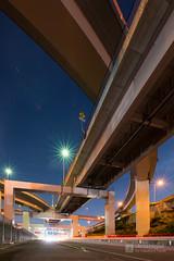 From south side, Nagoya Minami Junction (名古屋南ジャンクション) (christinayan01) Tags: elevated expressways highway junctio jct junction road bridge japan nagoya