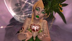 040717_002 (She Infinity) Tags: irrisistible shop swank event tropical goddess dress gown evening she infinity isis secretspy maitreya belleza slink hourglass fantasy flowers secondlife sl second life mesh