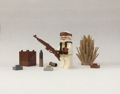 WWII Winter German (Laygoe.Dood) Tags: lego military brickarms gibrick wwii