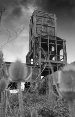 Donjon nb (Rey Villow) Tags: industrial usine factory ruins ruines