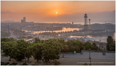 A Room With A View (RudyMareelPhotography) Tags: barcelona hotelmirador montjuïc portvell city colourful harbour landscape morninglight ngc flickrclickx flickr