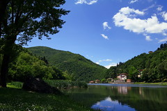 Laghetto di Londa (LaDani74) Tags: nature landscape tuscany mugello londa lake water naturescape countryside italy canoneos760d sigma1750 reflections