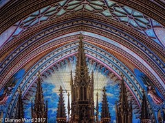 Notre-Dame Basilica (Tewmom) Tags: canada basilica notredame notredamebasilica church cathedral architecture montreal